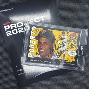 Roberto Clemente -Topps Project 2020 Baseball Card